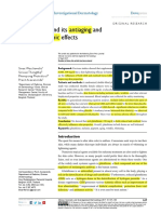 Glutathione and Its Antiaging and antimelanogenic effects