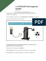 Diagrama de CONEXIÓN del compresor Aire acondicionado.docx