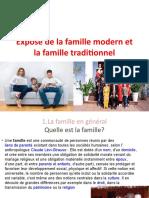 Exposé de La Famille Modern Et La FaJmille