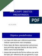 UD3 Objetos Predefinidos Javascript
