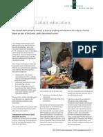 101221 Nonformal Adult Education