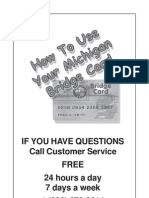 Michigan Electronic Benefit Transfer Bridge Card