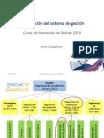 C2 Certificación de Sistemas de Gestión Bolivia.
