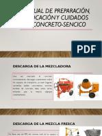 manuel de diseño de vaciado de concreto