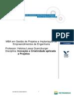 Inovação e Criatividade Aplicada a Projetos - Heloisa Lessa Rodrigues Guenzburger
