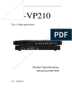 MANUAL PROCESADORA HD PARA PANTALLAS LED VP210