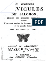 1860 Anonymous Veritables Clavicules de Salomon