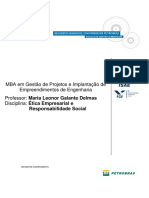 Ética Empresarial e Responsabilidade Social - Maria Leonor Galante Delmas