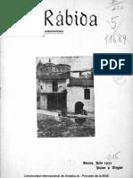 Revista La Rabida 1932