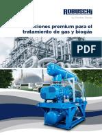 Robuschi Blower Gas Biogas S30 1T18C Sp