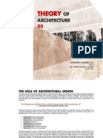 Theory of Architecture 3