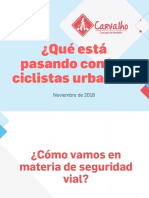 ¿Qué está pasando con los ciclistas urbanos?