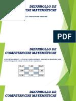 Desarrollo de Competancias Matemáticas