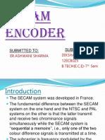 Secam Encoder