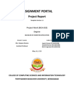 Final Working Project Report