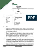 Silabo Fundamentos Empresariales II -2019-i