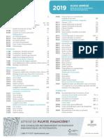 Guide des tarifs et nomenclature des actes buccodentaires