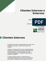Clientes Externos e Internos - Gsq