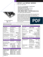 Artesyn NFN40 7607 Datasheet