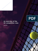 An Overview of the Uk Competition Rules