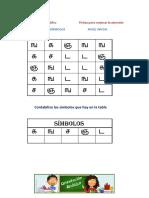 Matriz de Simbolos Inicial