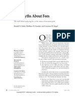 Fivemyths About Fees