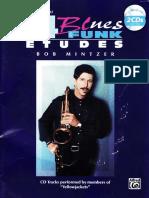 Bob Mintzer 14 Blues & Funk Etudes