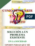 COMO DESCUBRIR UNA IDEA DE NEGOCIO.ppt