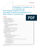 National Heart Foundation of Australia and Cardiac Society of Australia and New Zealand Guidelines for the Prevention, Detection, And Management of Heart Failure in Australia 2018