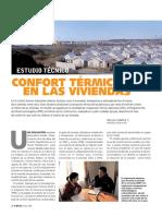 Confort térmico en las Viviendas