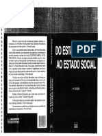 Do Estado Liberal ao Estado Social, Paulo Bonavides