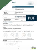 500487_Senior Design Engineer PD - Band 7