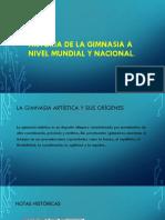 Historia de La Gimnasia a Nivel Mundial y HN[1]