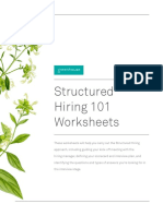 structured hiring