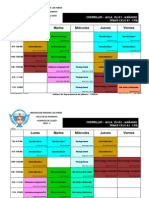 Horario Civil