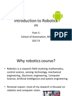 Robotics general course