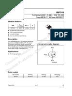 IRF740-STMicroelectronics