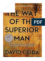 [2017] The Way of the Superior Man by David Deida |  A Spiritual Guide to Mastering the Challenges of Women, Work, and Sexual Desire (20th Anniversary Edition) | Sounds True