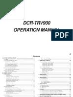 Dcr Trv900 Op