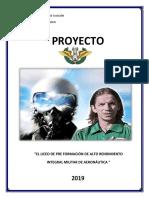 Colegio Militar de a Proyecto Liceo Militar de Aviacion 2019