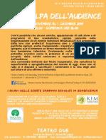 Tutta Colpa Dell'Audience_flyer a5 Retro_16 Nov 2019