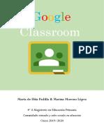 Google Classroom - Marta de Hita y Marina Moreno