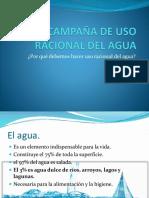 Campaña de Uso Racional Del Agua