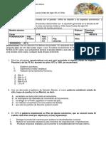 4ºB ..Evaluación Final Del Siglo XX Chile . Copia