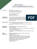 portfolio resume without objective 2019