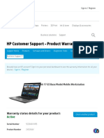 HP Product Warranty Results HP ZBook 17 G5 Base Model Mobile Workstation Lost Detail
