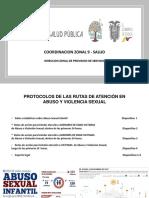 Rutas y protocolos
