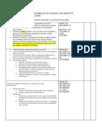Cronograma Para Desarrollo de Trabajo Colabortivo Fundamento de Mercadeo