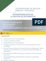 14.06.16. Integración de La Gestión Documental en El Sector Público - Interoperabilidad - Javier