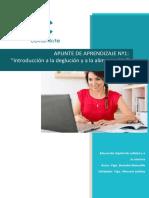 DGP - Apunte Aprendizaje M1